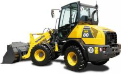 Komatsu WA65, WA75, WA80 Wheel Loader Service Manual