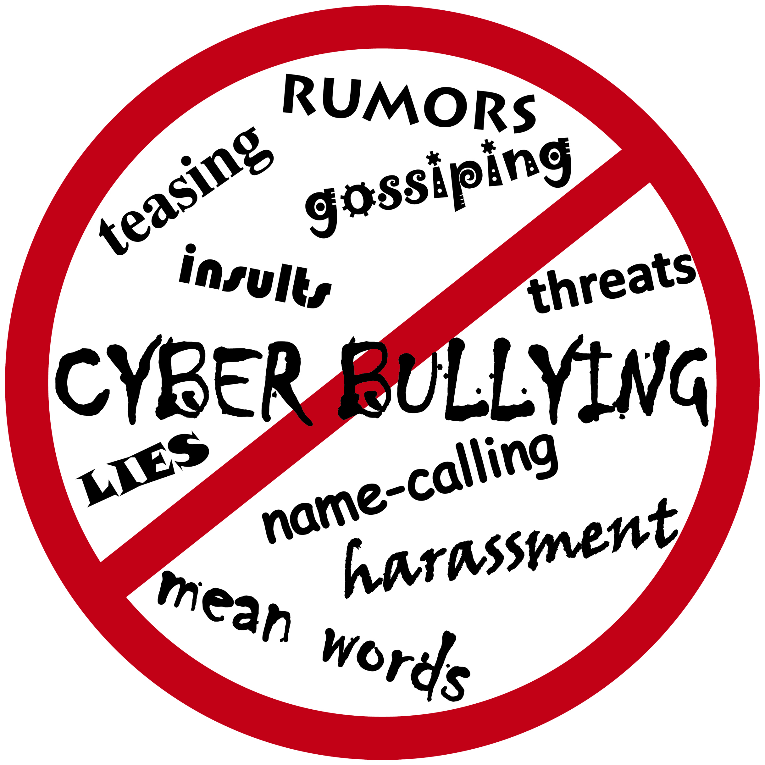 Anti Cybercrime Logo Conoces el Bullying, e...