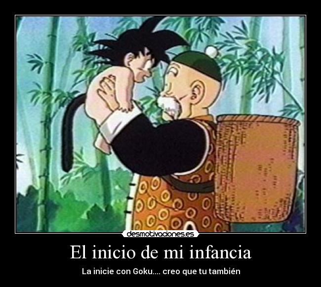 ¿Quien no lloro con este final de Dragon ball?