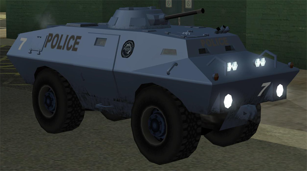 Tanque s.w.a.t(GTA)
