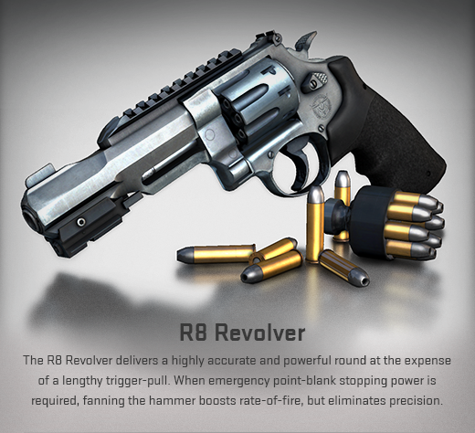 Review de nueva arma CS-GO - R8 Revolver