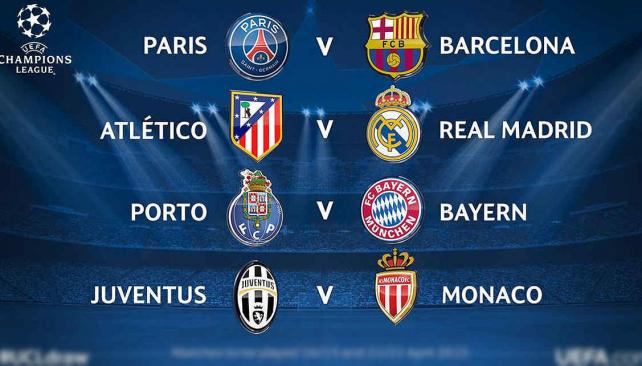 Cuartos De Final De La Uefa Champions League - Deportes - TRAIGAN ...