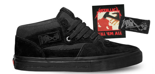 zapatillas vans metallica