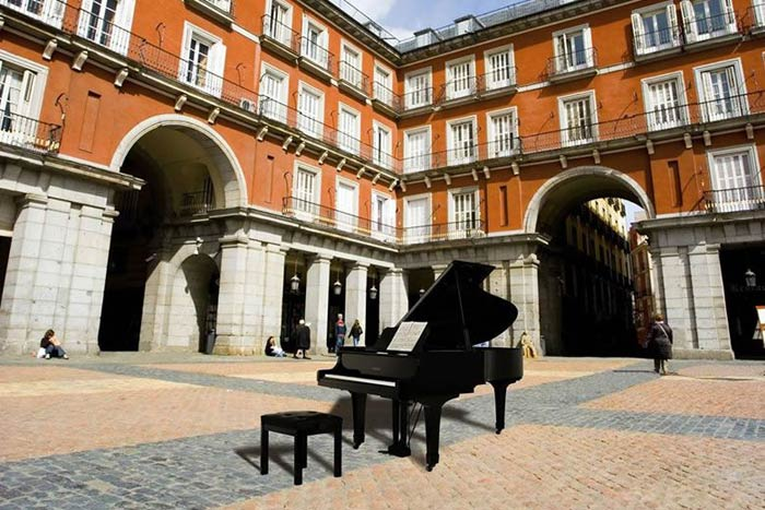 Madrid se llena de pianos