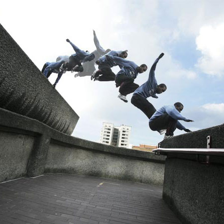 fotos de parkour