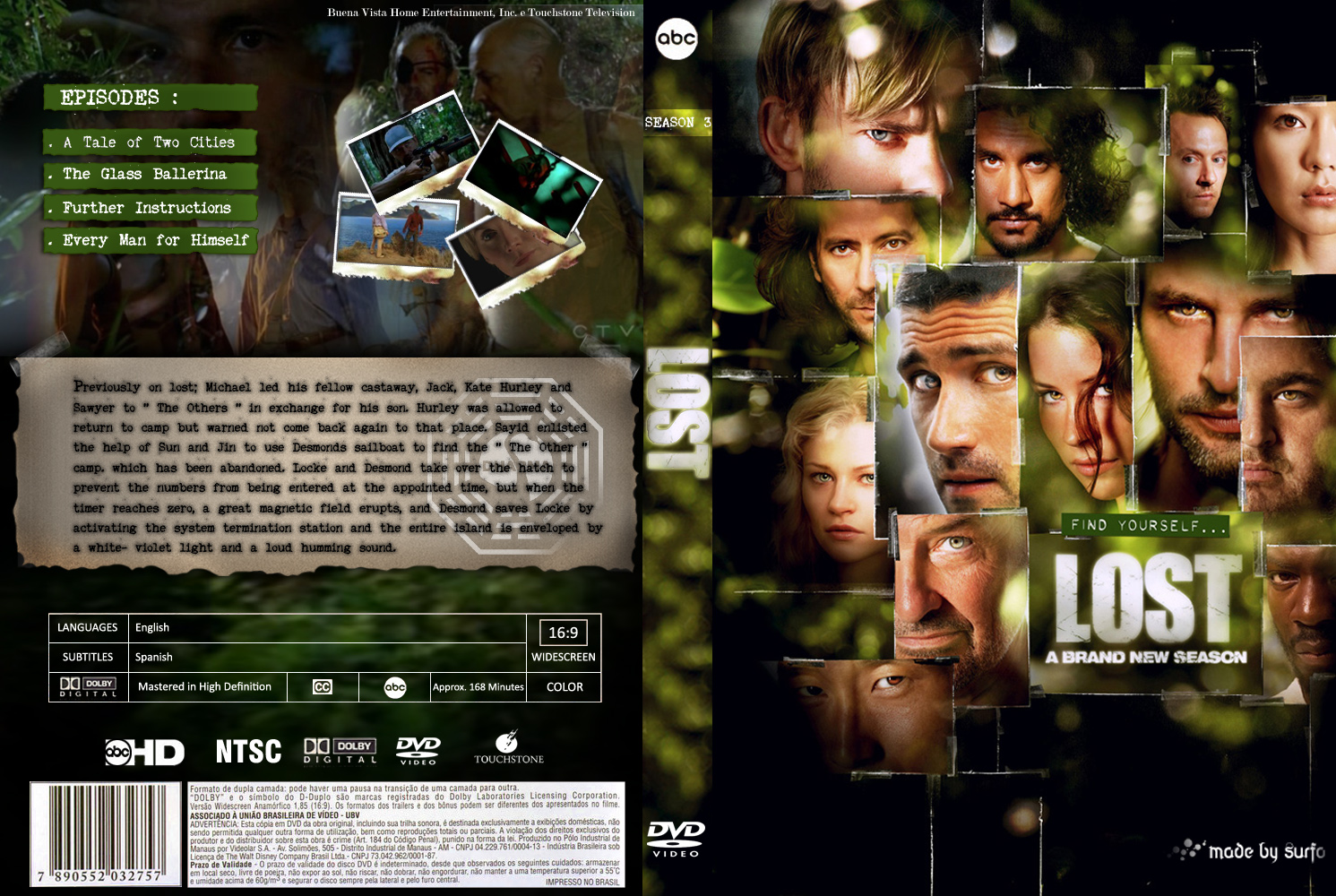 Lost : dvd covers - Imágenes - Taringa!