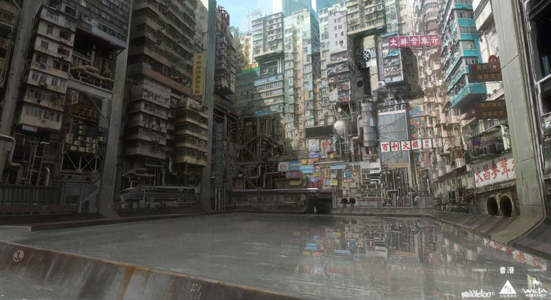 Los impresionantes bocetos para Ghost in the Shell