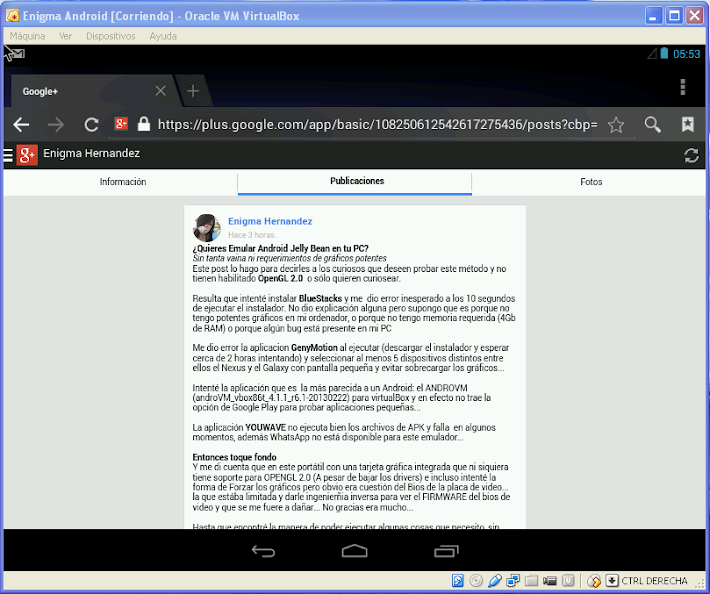 android en pc