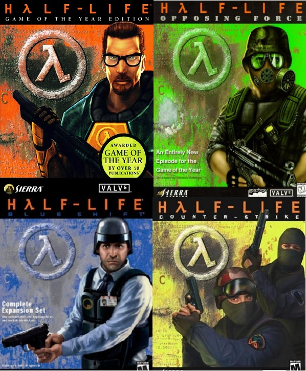 Jugue Half Life por primera vez. Mi opinion