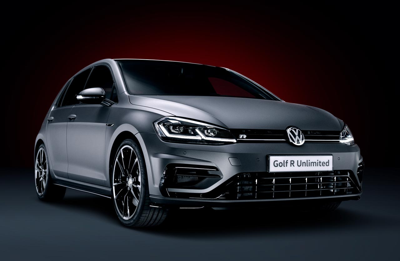 Volkswagen Golf R Unlimited: edicion limitada a 50