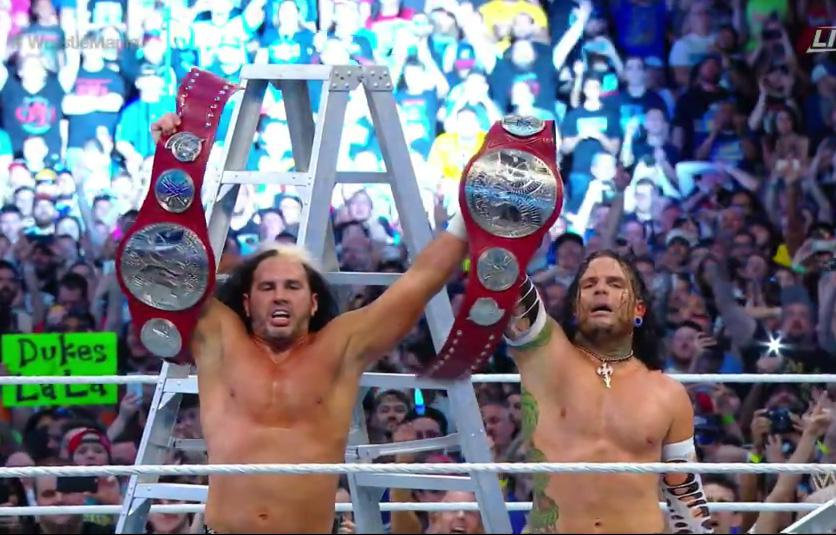 Hagamos top a los Hardy boys, Matt y Jeff regresaron a WWE